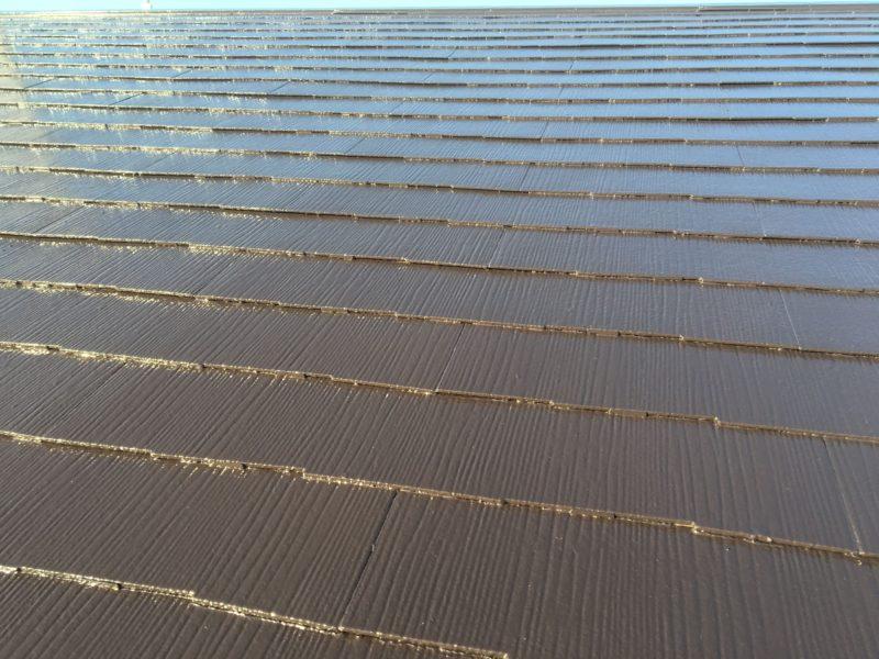 横浜市港南区T様邸屋根塗装施工後