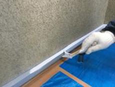 戸建 リフォーム 塗り替え 水切り シリコン 上塗り