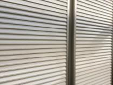横浜市 雨戸 吹付塗装 施工後 人気 シリコン 長持ち