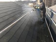 横浜市 屋根 塗装 専門店 高圧洗浄