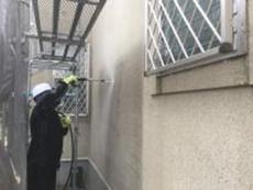 塗り替え 横浜市 金沢区 外壁 高圧洗浄