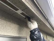 戸建 リフォーム 塗り替え 軒天換気口 ケレン 横浜市 金沢区