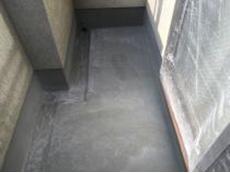 横浜市 金沢区 ベランダ 防水塗装 ウレタン 施工前