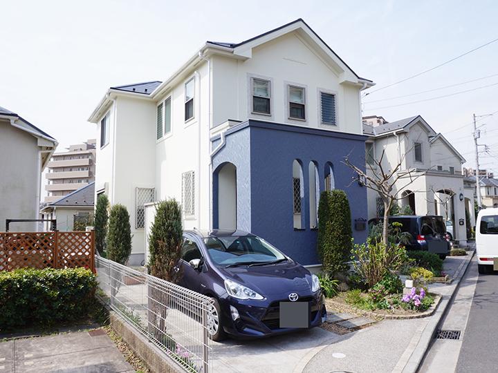 横浜市 外壁 塗装 金沢区 ダイヤモンドコート 日本ペイント 施工後 戸建 リフォーム