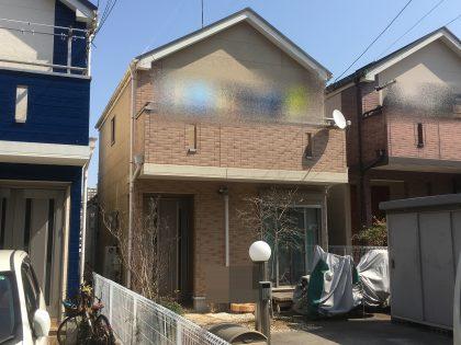 外壁塗装 横浜市 栄区 施工前 住宅 戸建 塗り替えリフォーム
