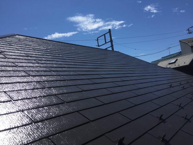 日本ペイント シリコン 塗装 屋根 施工前 横浜市 栄区 リフォーム