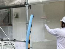 リフォーム 日本ペイント 外壁 シリコン 戸建住宅 下塗り 横浜 栄区