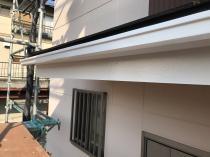 横浜市 栄区 破風 施工後 日本ペイント シリコン リフォーム 塗装