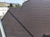 リフォーム 塗装 戸建住宅 日本ペイント 横浜市 栄区 屋根 遮熱 棟板金 施工後