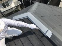 塗り替え 神奈川 横浜市 栄区 錆止め 屋根塗装 棟板金 リフォーム