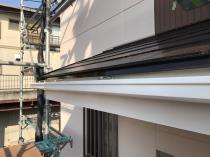 横浜市 栄区 リフォーム 塗装 施工後 軒樋 戸建住宅 日本ペイント