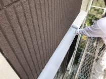 住宅 塗り替え リフォーム 霧除け塗装 錆止め 横浜市