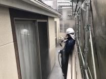 横浜市 栄区 塗装 リフォーム 外壁 高圧洗浄 戸建住宅 日本ペイント
