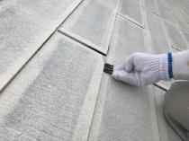 横浜市 栄区 屋根 タスペーサー挿入 リフォーム 塗り替え 日本ペイント