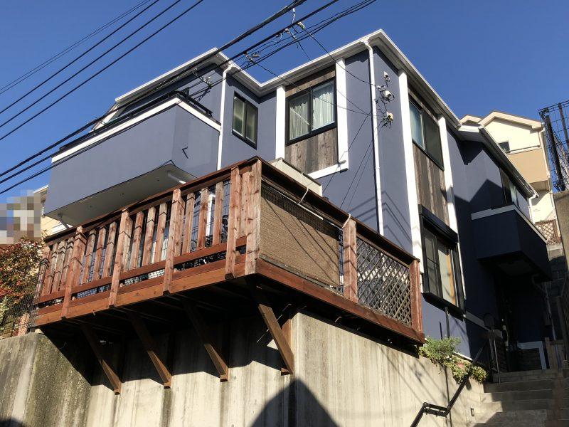 横浜市 磯子区 外壁塗装 日本ペイント インディフレッシュセラ リフォーム 外壁