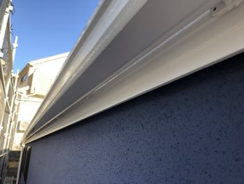 横浜市 磯子区 住宅 破風塗装 施工後