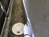 水切り塗装 シリコン 上塗り1回目 磯子区 リフォーム