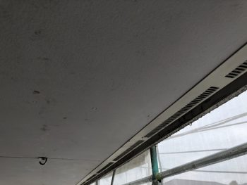 施工前 軒天 横浜市 リフォーム 塗装
