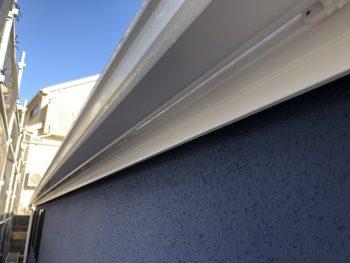 軒樋 雨樋 塗り替え シリコン 横浜市 施工後