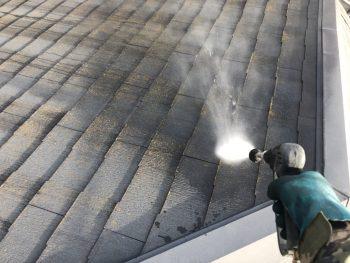 高圧洗浄 屋根 塗り替え リフォーム 横浜市 磯子区