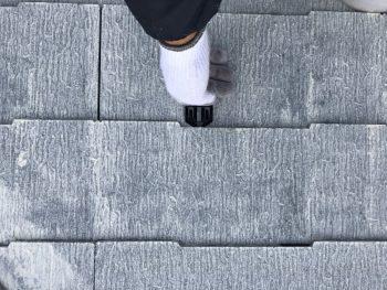 横浜市 屋根 塗り替え タスペーサー 縁切り 雨漏り防止 磯子区