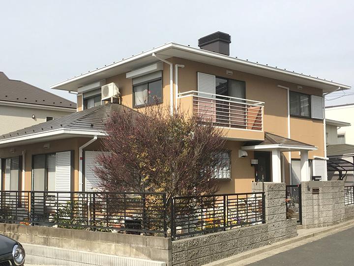 塗装 住宅 横浜市 外壁 屋根 施工後