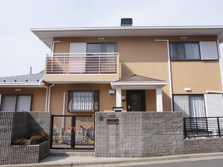 戸建 塗り替え 泉区 日本ペイント 横浜市 外壁塗装