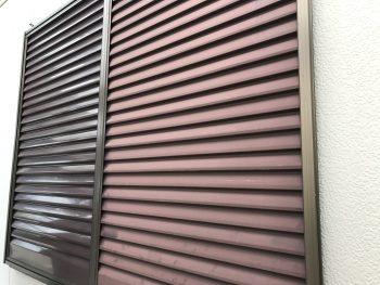 横浜市 住宅塗装 港南区 雨戸 吹付 施工前
