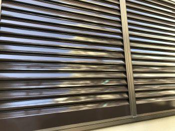 横浜市 住宅塗装 雨戸 吹付塗装 シリコン 防藻 防カビ 低汚染性 施工後