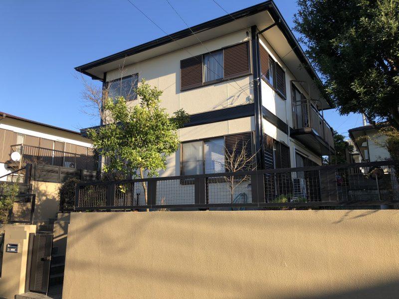 戸建住宅 塗り替え リフォーム 施工後 横浜市