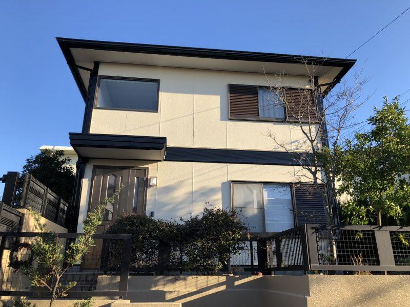 ダイヤモンドコート 外壁塗装 横浜市 港南区 施工後