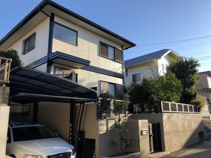 横浜市 外壁塗装 施工後 ダイヤモンドコート