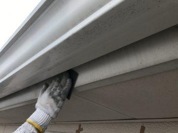 住宅塗装 破風 塗り替え ケレン作業 横浜市 港南区