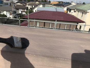 住宅塗装 横浜市 棟板金 塗り替え 清掃