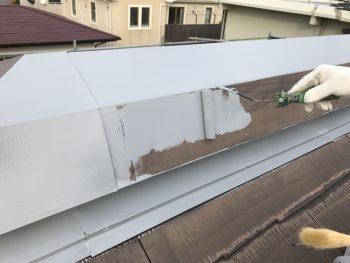棟板金 塗り替え リフォーム 錆止め塗装 横浜市 港南区