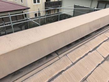 塗り替えリフォーム 横浜市 港南区 棟板金 施工前