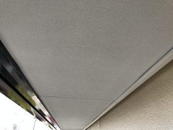 住宅塗装 軒天塗装 施工後 横浜市 港南区 日本ペイント ケンエースG-Ⅱ