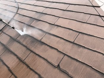 横浜市 屋根 高圧洗浄 塗り替え リフォーム 港南台