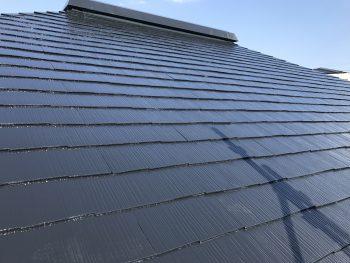 戸建住宅 塗り替え 屋根 遮熱塗料 日本ペイント 施工後