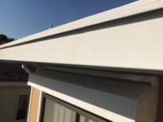 横浜市 戸建 塗り替え 軒樋 シリコン 施工後