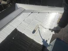 泉区 屋根塗装 横浜市 住宅 戸建 下塗り