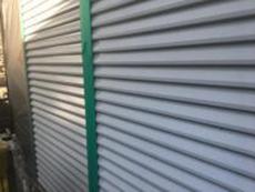 シリコン 吹付 雨戸 塗り替え リフォーム 横浜市 施工前