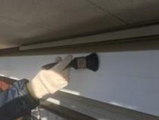 横浜市 シリコン 塗装 シャッターボックス 清掃 泉区