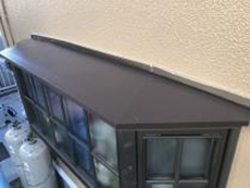横浜市 泉区 塗り替え 出窓天端 シリコン 施工後 長持ち 日本ペイント
