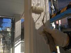 横浜市 シリコン 上塗り2回目 人気 長持ち 泉区 日本ペイント