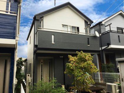 横浜市 外壁塗装 ダイヤモンドコート 栄区 屋根 防水保護塗装