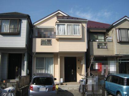 横浜市港南区S様邸施工事例|外壁塗装 屋根塗装 付帯部塗装                    シーリング打ち替え