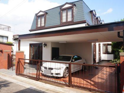 横浜市中区 M 様邸施工事例|外壁塗装 屋根塗装 ベランダウレタン防水