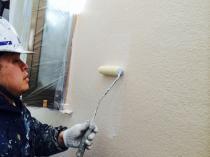 横浜市神奈川区H様邸ダイヤモンドコート外壁塗装UVカットクリヤー