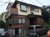 横浜市神奈川区H様邸ダイヤモンドコート外壁塗装前